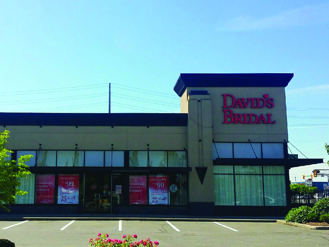 David's Bridal Langley, BC