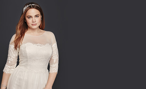 Best Wedding Dress Styles For Plus Sizes David S Bridal
