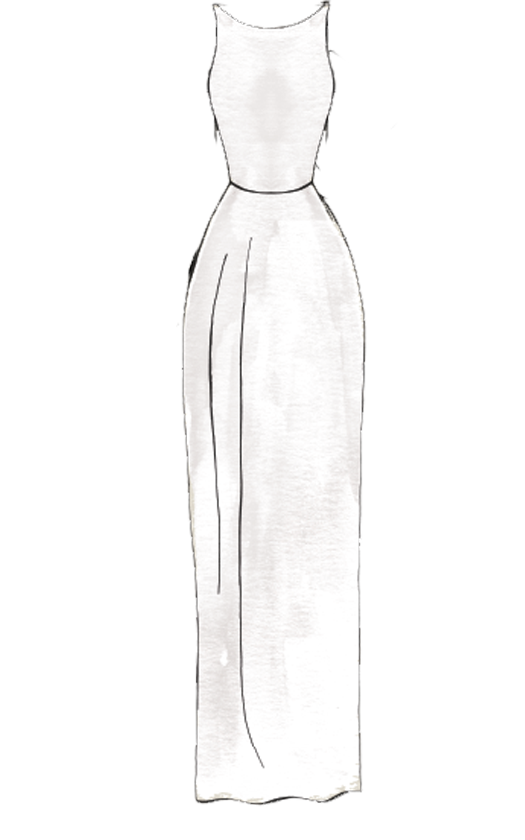 Sheath Wedding Dress Silhouette Style Guide | David's Bridal