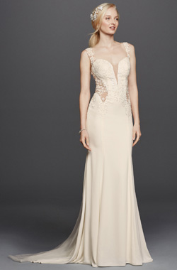 Sheath Silhouette Wedding Dress For Your Body Type