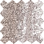 Platinum Sequin Swatch
