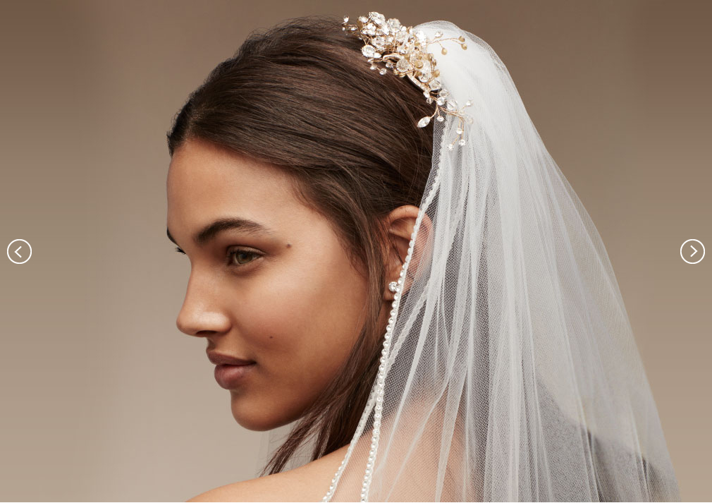 Wedding Veil Styles Bridal Headpieces Tiaras Veils