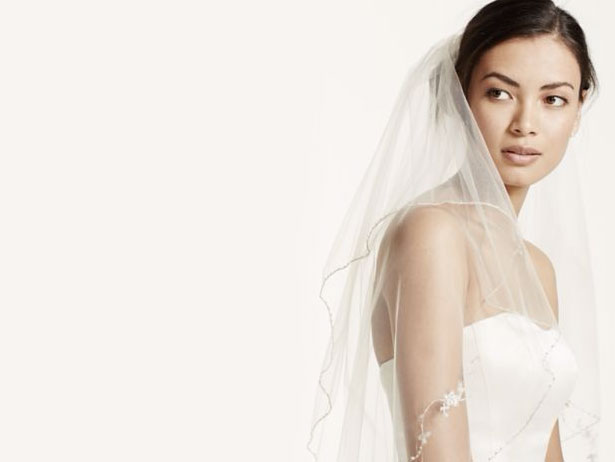 Mid-Length Veils | David's Bridal Hair Accessories