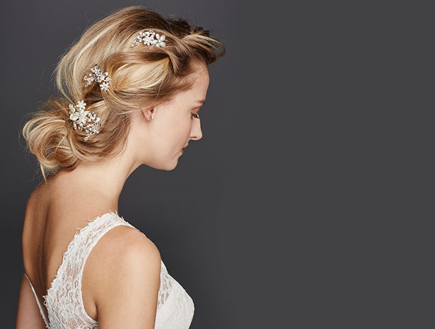 Bridal Hair Pins and Bridal Combs | David's Bridal Hair Accessories