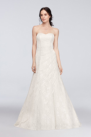 A-Line Wedding Dress: After