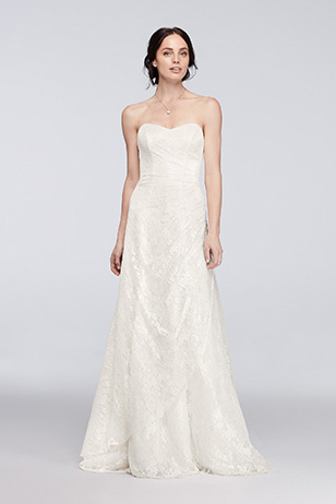 A-Line Wedding Dress: Before