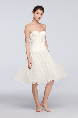 Tea-Length Wedding Dress: Solution
